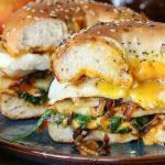 pear_apple_cheddar_caramelized_onion_grilled_cheese_bagel_sandwich_6