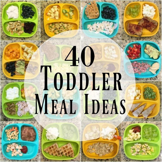 40 healthy toddler meals forumfinder