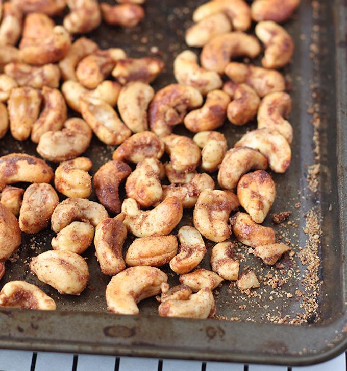apple cinnamon roasted cashews