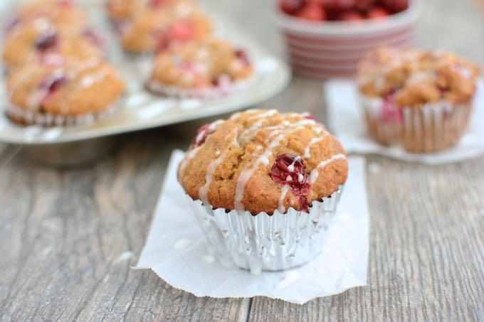 This recipe for Cranberry Sweet Potato Muffins makes a great breakfast or grab-and-go snack. You could also serve them as a dinner side dish.