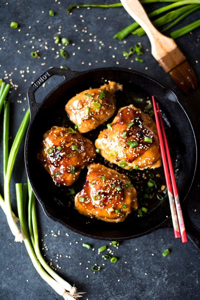 Sticky-Garlic-Honey-Baked-Chicken-1