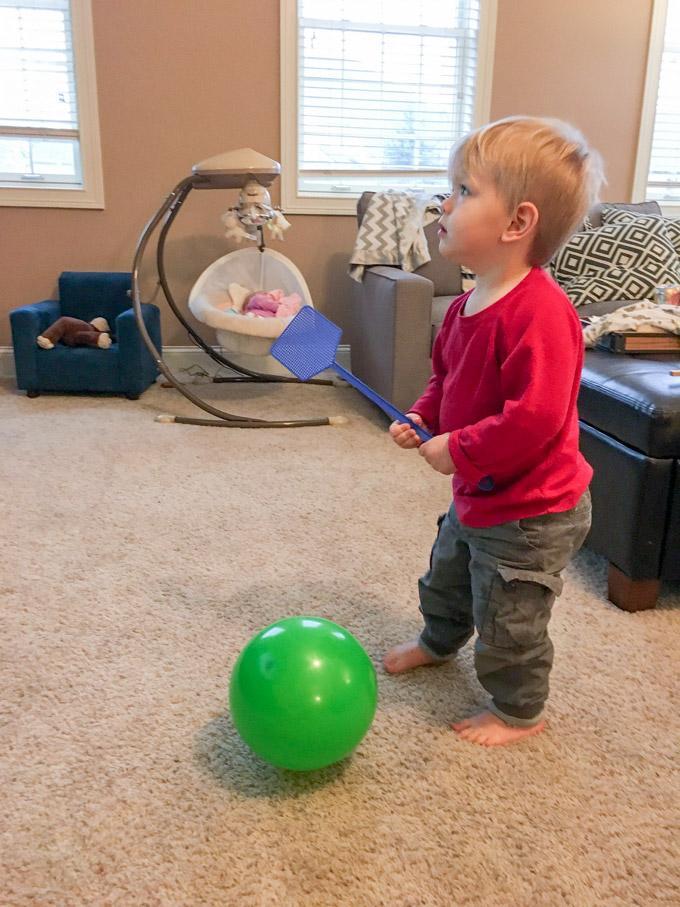 Balloon tennis