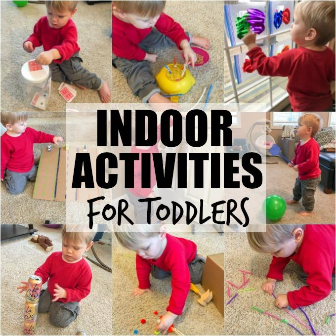 Indoor activities for toddlers the lean green bean for Indoor crafts for kids