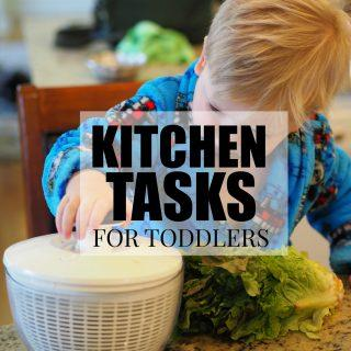 Kitchen Tasks For Toddlers