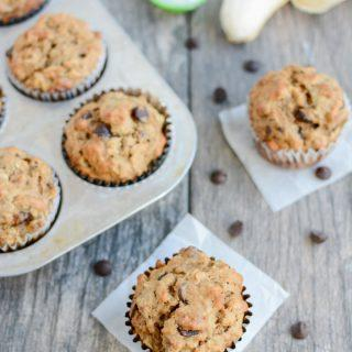 These dairy-free Coconut Oil Banana Muffins are packed with flavor and perfect for breakfast or a quick snack.