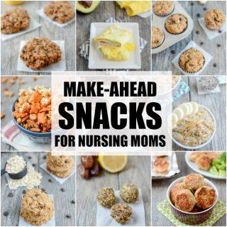 Make-Ahead Snacks For Breastfeeding Moms