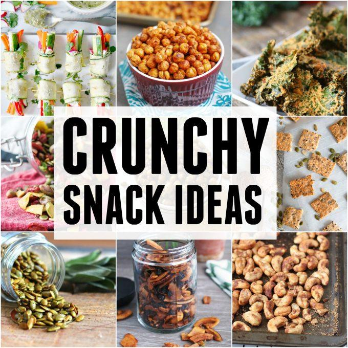 Crunchy Snack Ideas