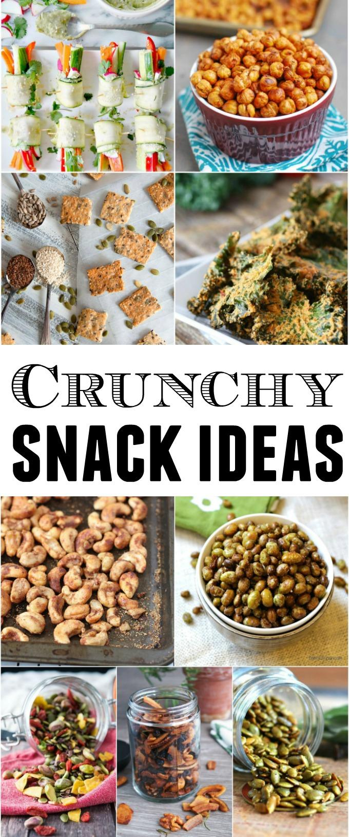 These 9 Healthy Crunchy Snacks are a helpful way to power through the afternoon slump. The recipes are packed with protein and healthy fats and are easy to eat on-the-go!