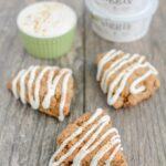 Small Batch Cinnamon Roll Scones