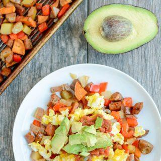 {Food Prep Idea} 5 Minute Breakfast Hash