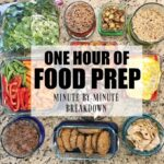 My Weekly Food Prep {By The Minute}