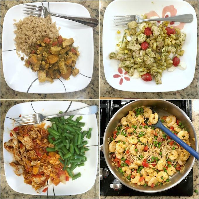 weekly dinners