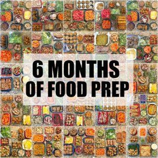 6 Months of Food Prep