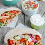 {Food Prep Idea} Spicy Chicken Pitas