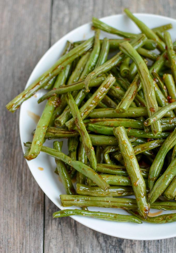 Asian Roasted Green Beans