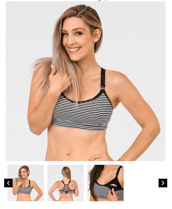nursing sports bra