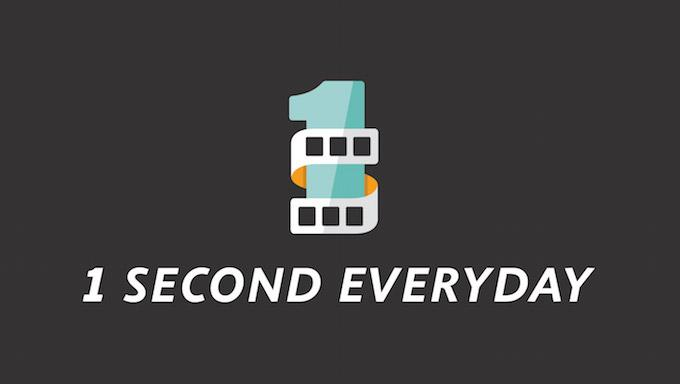 one second every day