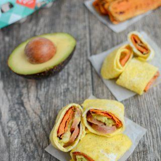 Sweet Potato Egg Wrap Bites