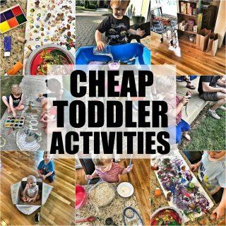 10 Cheap Toddler Activities