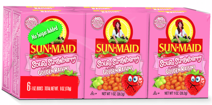 sunmaid sour raisins