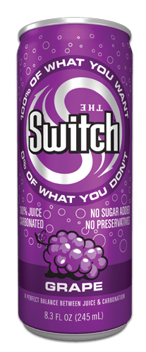 switch sparkling juice