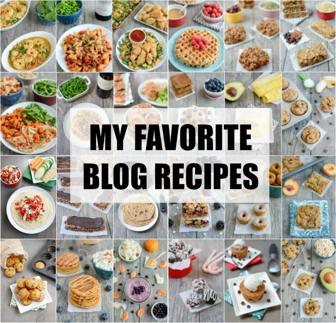 My favorite quick and healthy recipes on my blog.