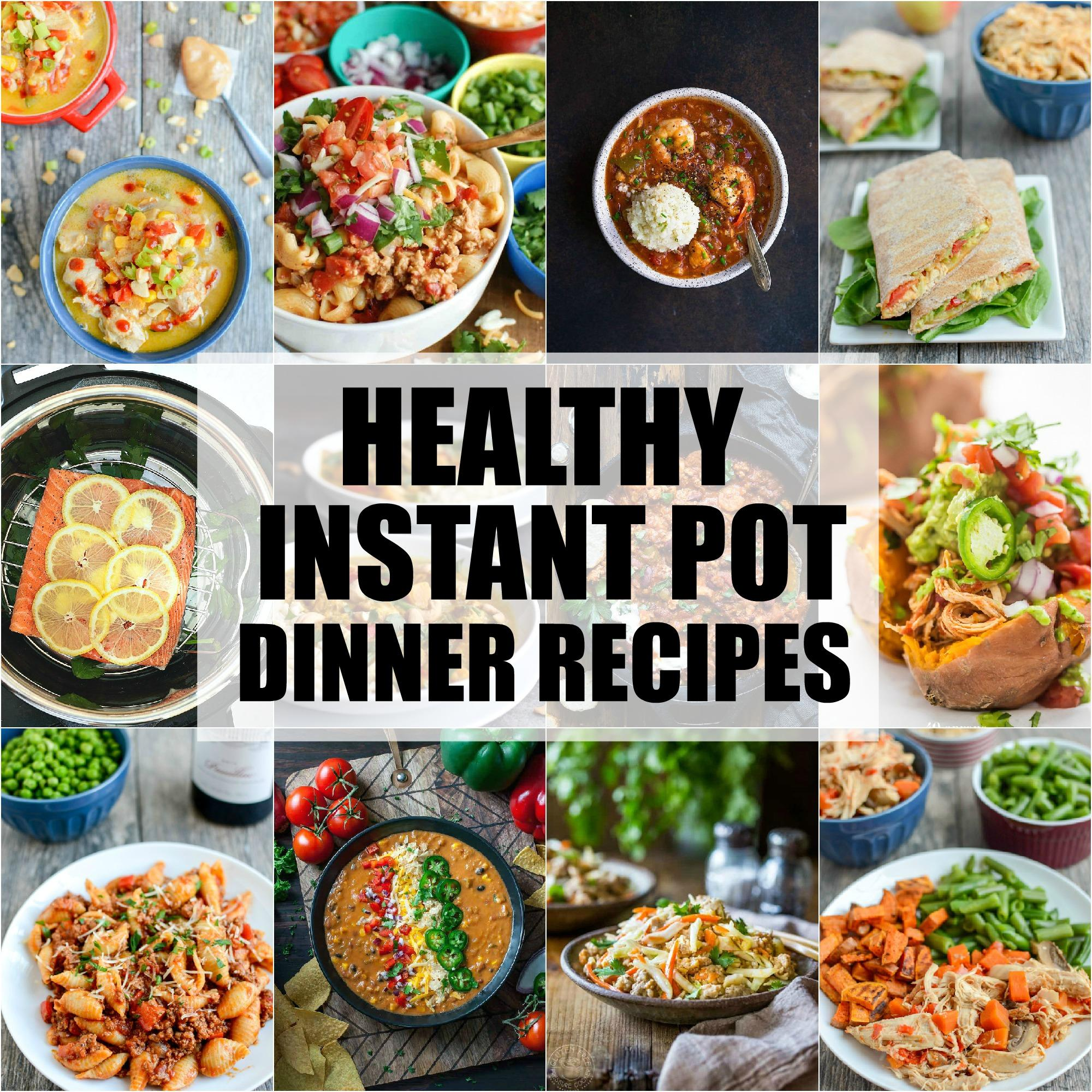 healthy instant pot dinner recipes the lean green bean