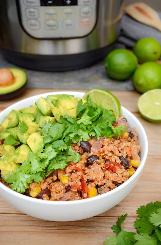 Instant Pot Mexican Quinoa