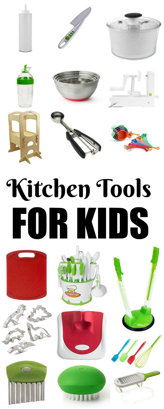These Kitchen Tools For Kids are perfect for introducing children to the kitchen. Let them get creative, have fun and develop healthy eating habits from a young age!