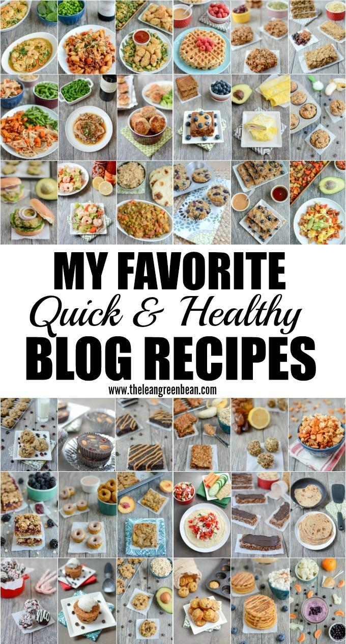 These quick healthy recipes are simple, family-friendly and made with real food ingredients. They're the ones I make most frequently on the blog and Iknow most of them by heart!