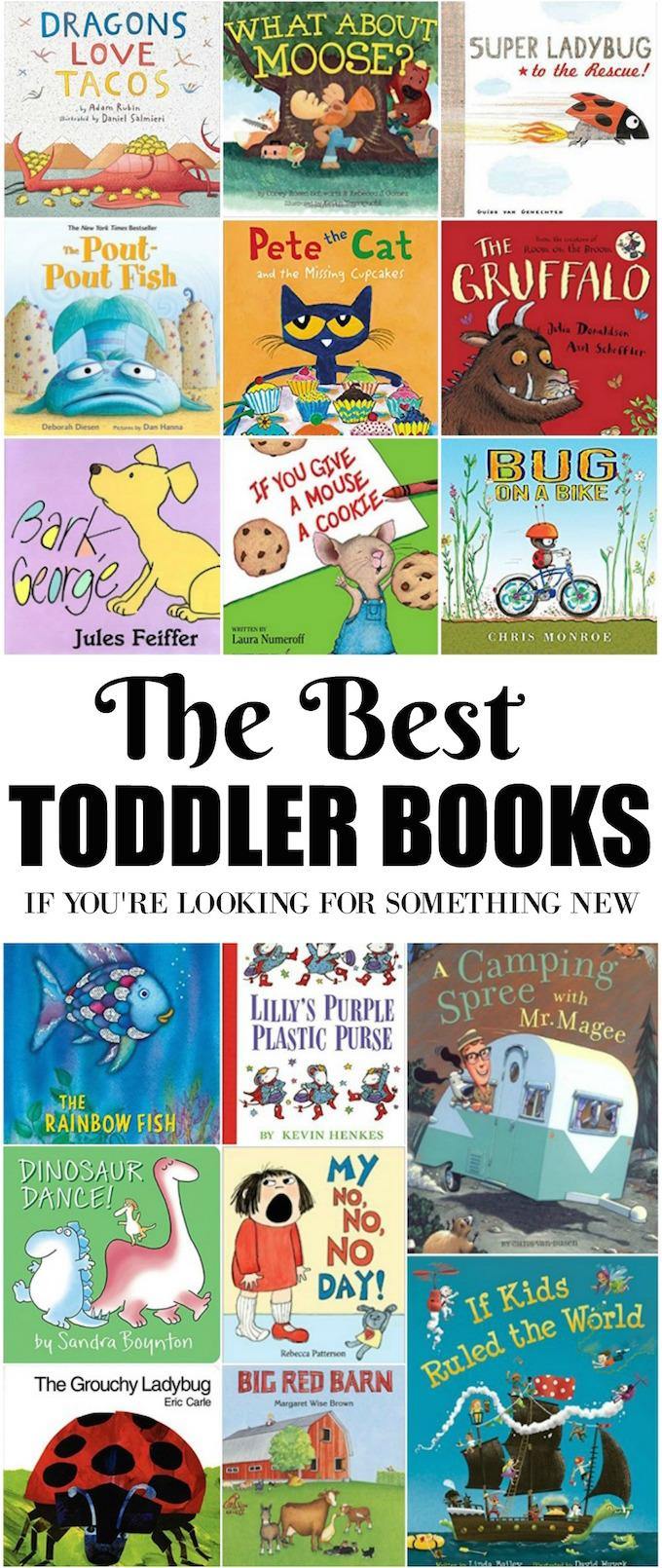 Some of the Best Toddler Books that might not have won any awards. Grab a few from the library or bookstore and enjoy them with your kids over and over again!