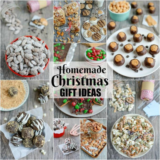 Gift Ideas For The 12 Days Of Christmas: Homemade Edible Christmas Gift Ideas