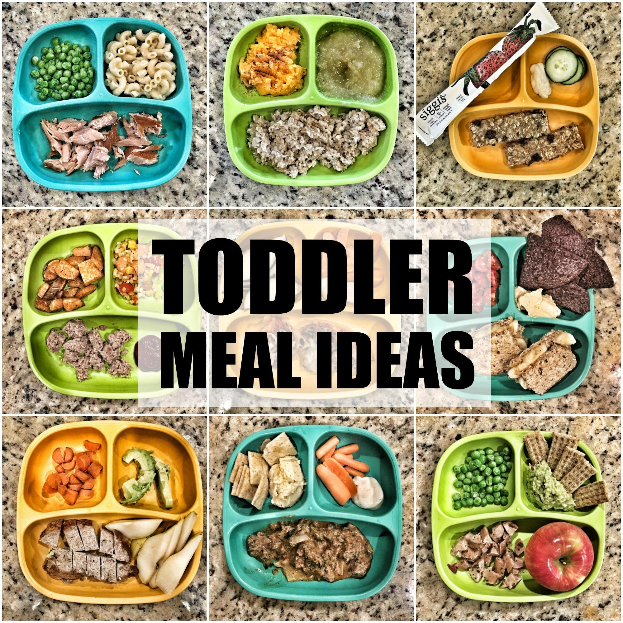 50 Quick Toddler Meal Ideas