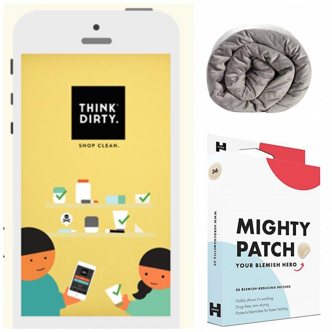 think dirty app, blanquil, mighty patch