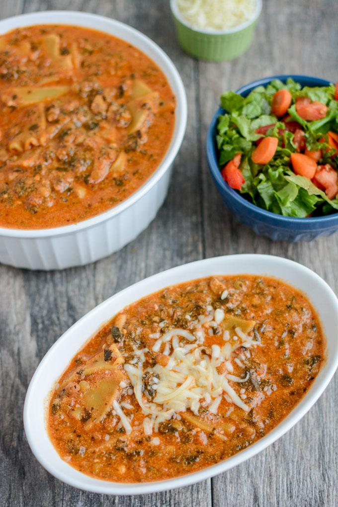 Instant pot vegetarian lasagna soup this instant pot vegetarian lasagna soup is a quick and easy comfort food dinner thats ready forumfinder Images