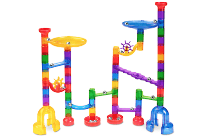 clear view marble run lakeshore learning