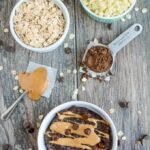 Chocolate Peanut Butter Cauliflower Oatmeal - perfect for breakfast!