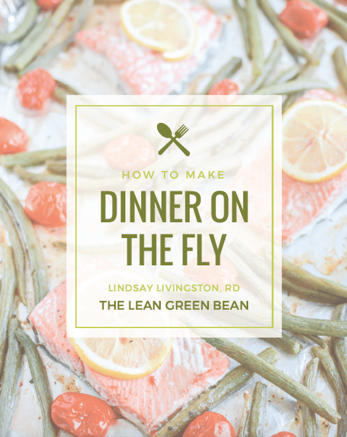 Dinner on the Fly - an ebook written by a Registered Dietitian