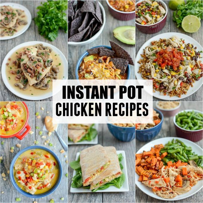 Healthy Instant Pot Chicken Recipes