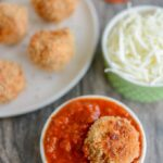 Pizza Meatballs - lower carb and full of flavor