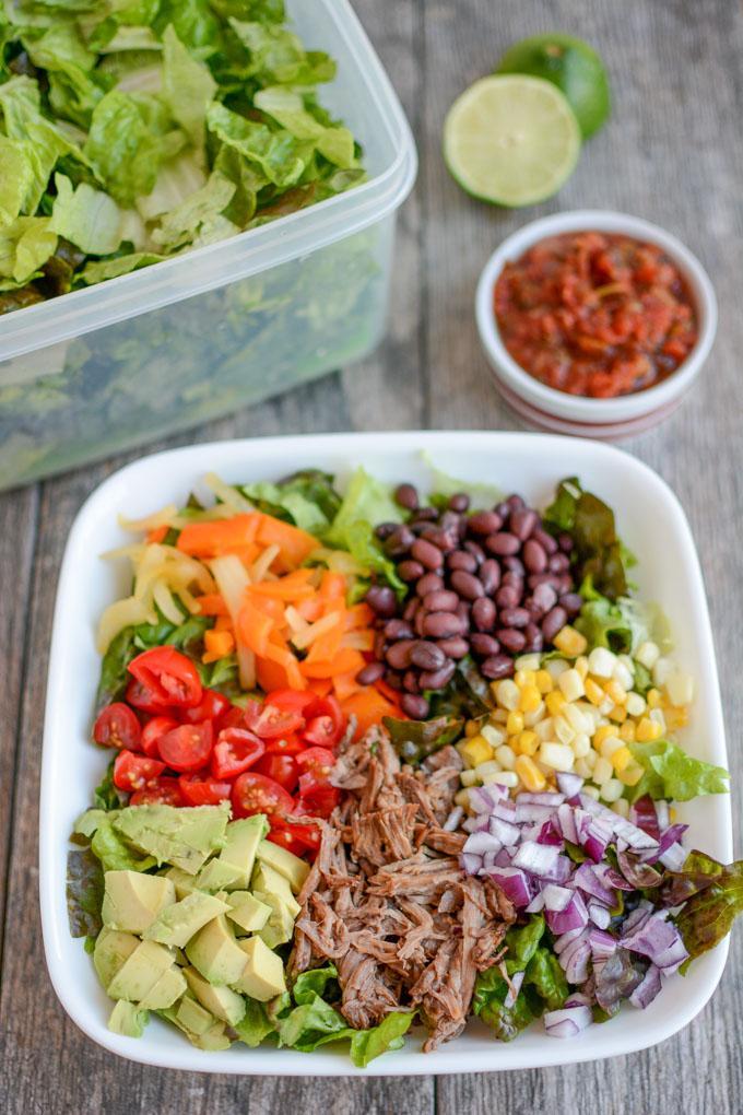 Barbacoa Taco Salad