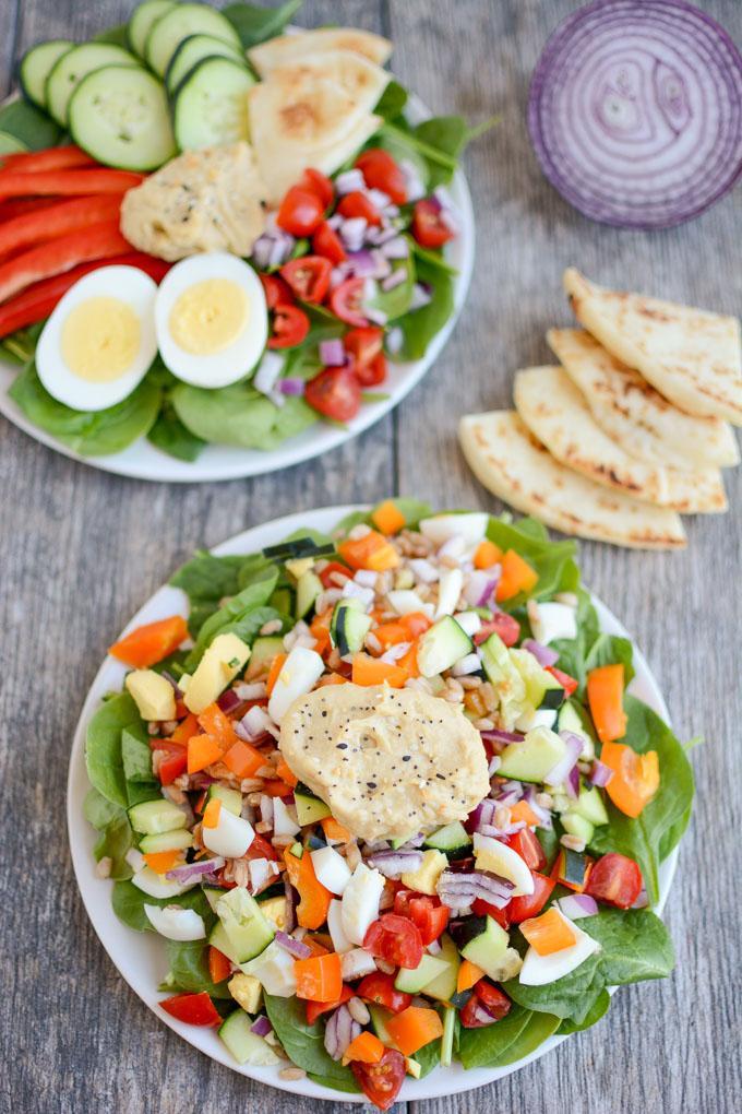 Mediterranean Chop Salad