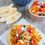 Persian Pulled Chicken {Slow Cooker or Instant Pot}