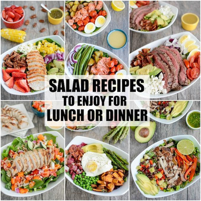 Salad Recipes For Lunch Or Dinner