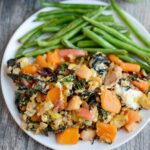 Fall Vegetable Skillet Hash