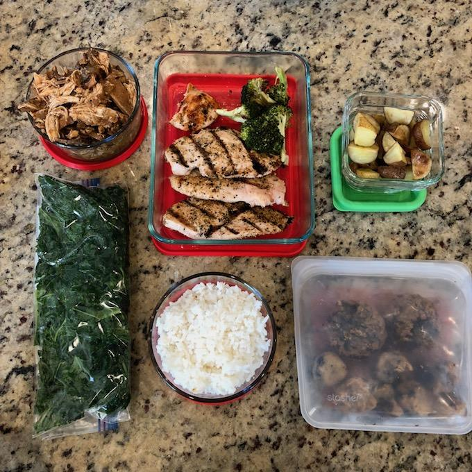 food prep leftovers
