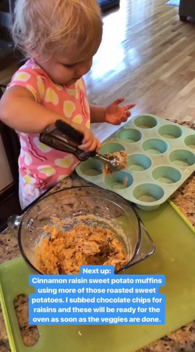 food prep muffins