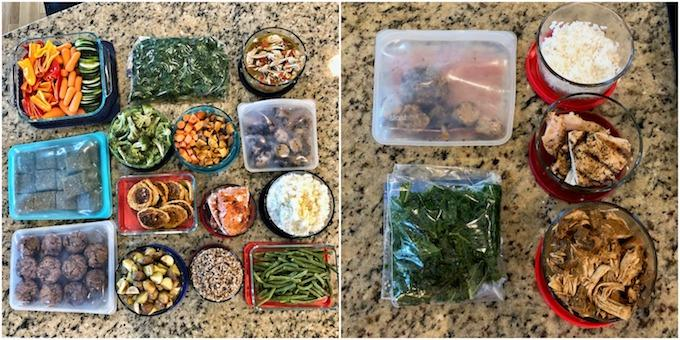 food prep vs leftovers