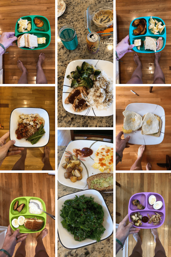 easy food prep plates