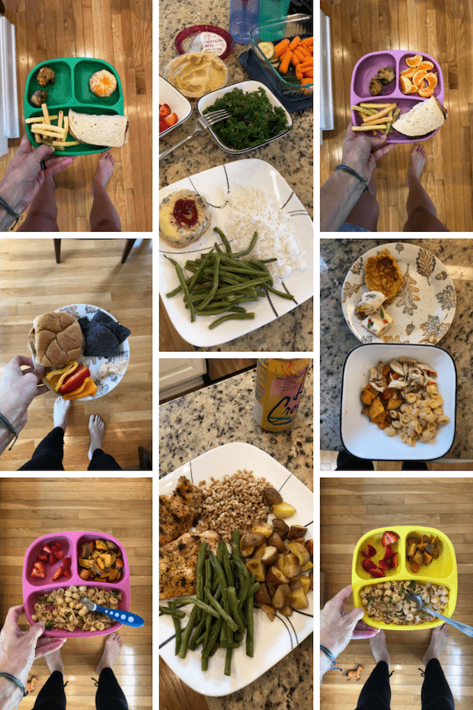 food prep lunches and dinners